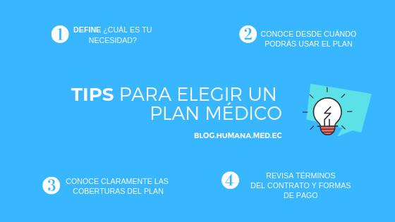 Tips elegir plan médico - Resumen
