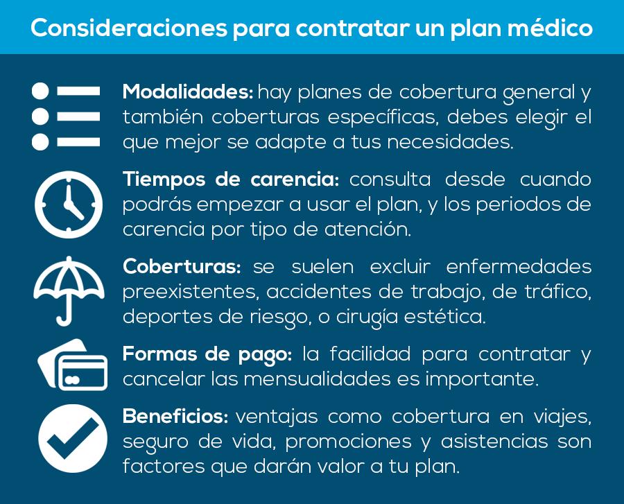 contratar-tu-plan-medico-elegir-considerar-eleccion-seguro-de-salud-tiempos-de-carencia-formas-de-pago-beneficios-carencias-humana-medicina-prepagada